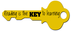 Reading is the Key Flyer Banner